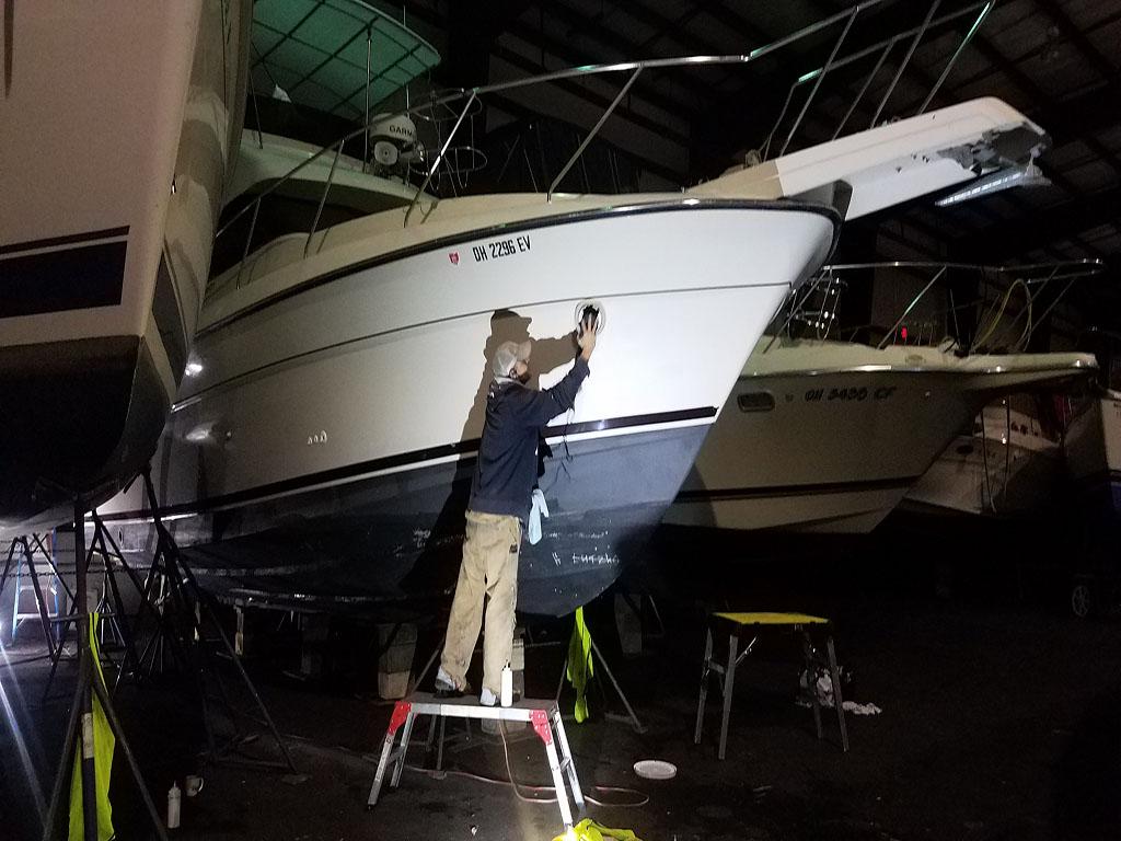 Exterior Boat Refinishing & Restoration